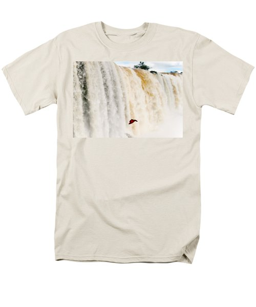 Men's T-Shirt  (Regular Fit) featuring the photograph Butterfly by Silvia Bruno