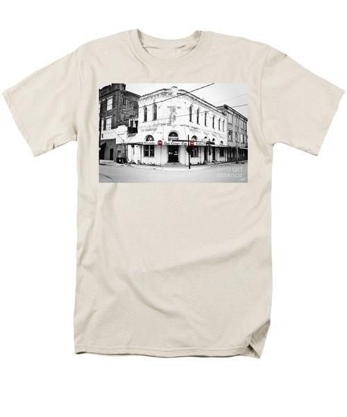 Cajun Corner Cafe Men's T-Shirt  (Regular Fit) by Scott Pellegrin