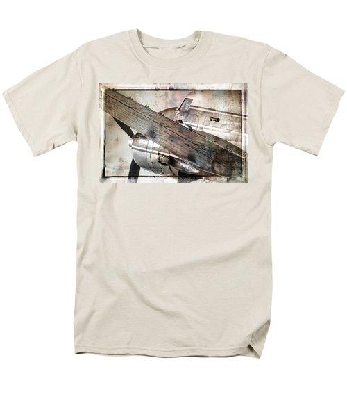 Men's T-Shirt  (Regular Fit) featuring the photograph Captain's Flight by Steven Bateson