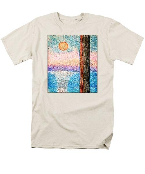 Carmel Highlands Sunset Men's T-Shirt  (Regular Fit) by Joseph J Stevens