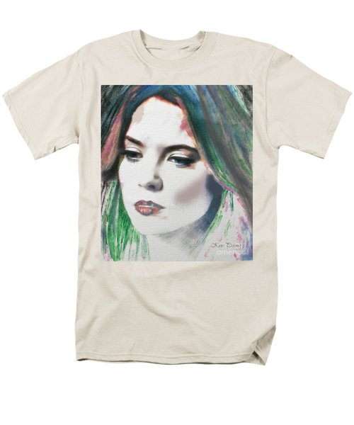 Men's T-Shirt  (Regular Fit) featuring the digital art Carrie  by Kim Prowse