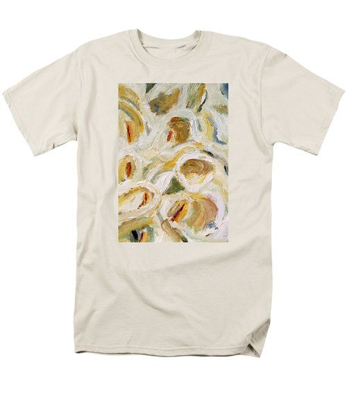 Cascade Of Calla Lillies Men's T-Shirt  (Regular Fit) by Michael Helfen