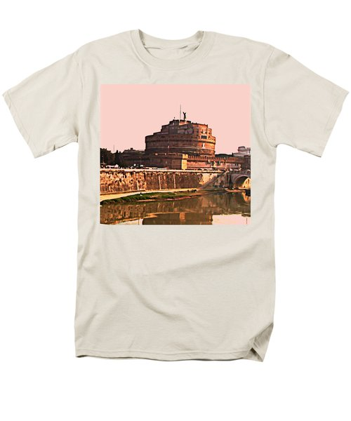 Men's T-Shirt  (Regular Fit) featuring the photograph Castel Sant 'angelo by Brian Reaves