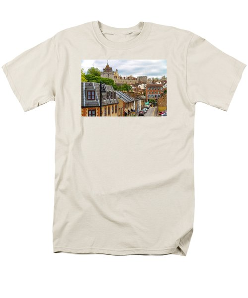 Castle Above The Town Men's T-Shirt  (Regular Fit) by Tim Stanley