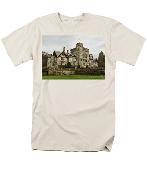 Hatley Castle Men's T-Shirt  (Regular Fit) by Marilyn Wilson