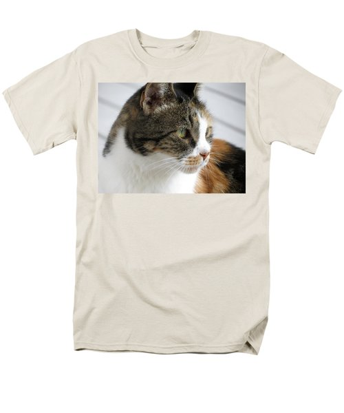 Cat Men's T-Shirt  (Regular Fit) by Laurel Powell