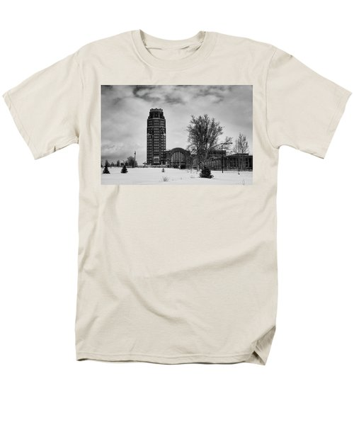 Central Terminal 4431 Men's T-Shirt  (Regular Fit) by Guy Whiteley