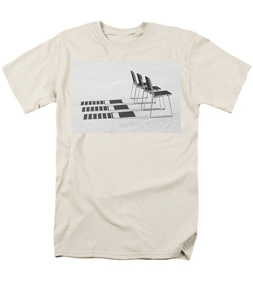 Chairs In The Sun Men's T-Shirt  (Regular Fit) by Chevy Fleet