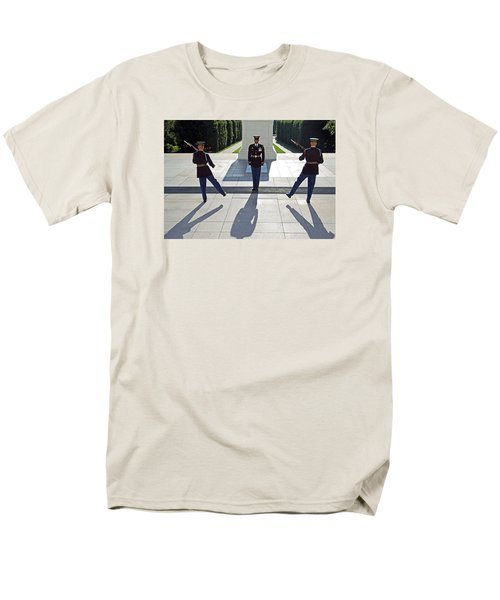 Men's T-Shirt  (Regular Fit) featuring the photograph Changing Of The Guard by Cora Wandel