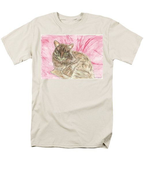 Men's T-Shirt  (Regular Fit) featuring the painting Charlie by Tracey Williams
