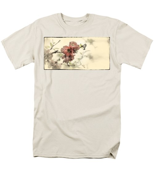 Men's T-Shirt  (Regular Fit) featuring the photograph Cherry Blossoms by Peter v Quenter