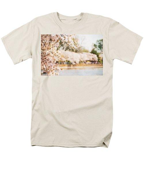 Men's T-Shirt  (Regular Fit) featuring the photograph Cherry Blossoms In Washington Dc by Vizual Studio