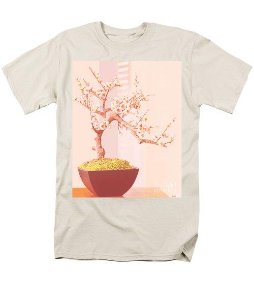 Cherry Bonsai Tree Men's T-Shirt  (Regular Fit)