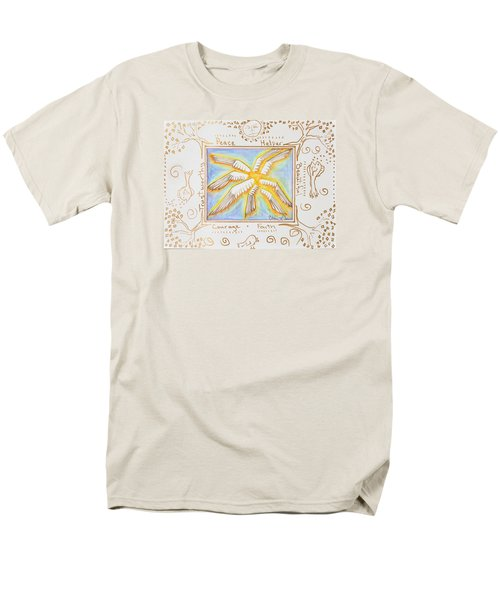 Men's T-Shirt  (Regular Fit) featuring the painting Cherubim by Cassie Sears