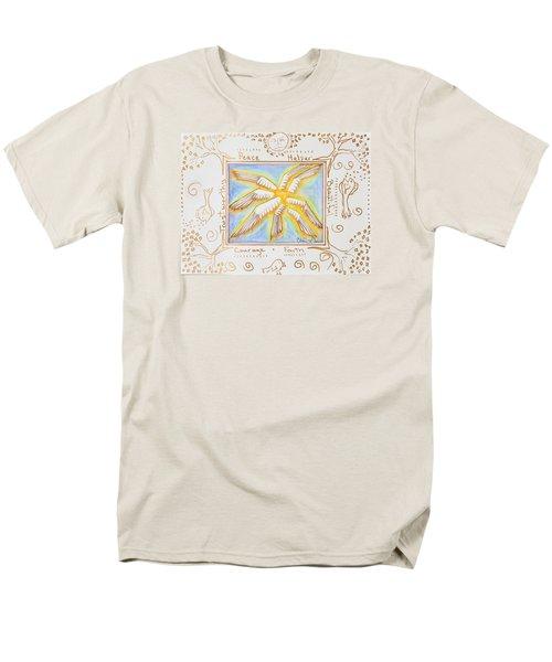 Cherubim Men's T-Shirt  (Regular Fit) by Cassie Sears