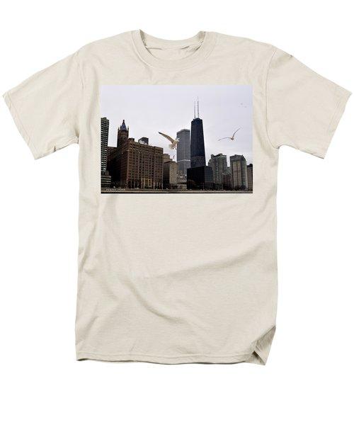 Chicago Birds 2 Men's T-Shirt  (Regular Fit) by Verana Stark