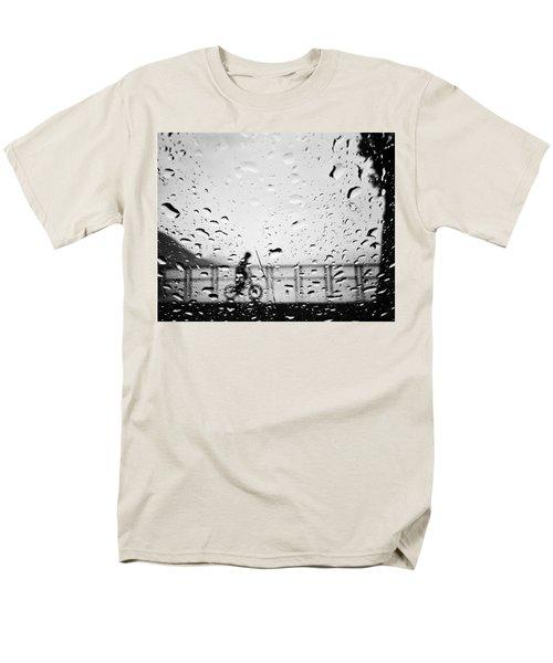 Children In Rain Men's T-Shirt  (Regular Fit) by Jerry Cordeiro