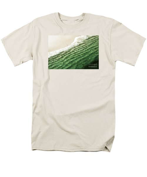 China Beach Wave Ocean Theme Pillow Print Tote Men's T-Shirt  (Regular Fit) by Artist and Photographer Laura Wrede