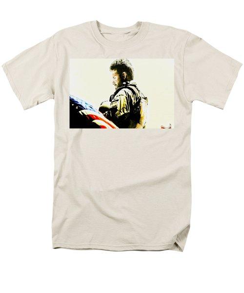 Chris Kyle Men's T-Shirt  (Regular Fit) by Brian Reaves