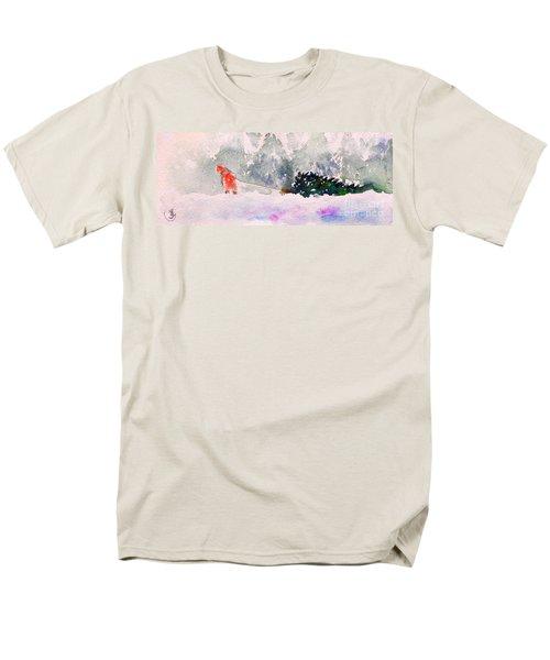 Christmas Is Coming Men's T-Shirt  (Regular Fit) by Yoshiko Mishina