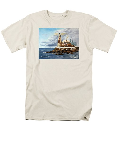 Christmas Island Men's T-Shirt  (Regular Fit) by Lee Piper