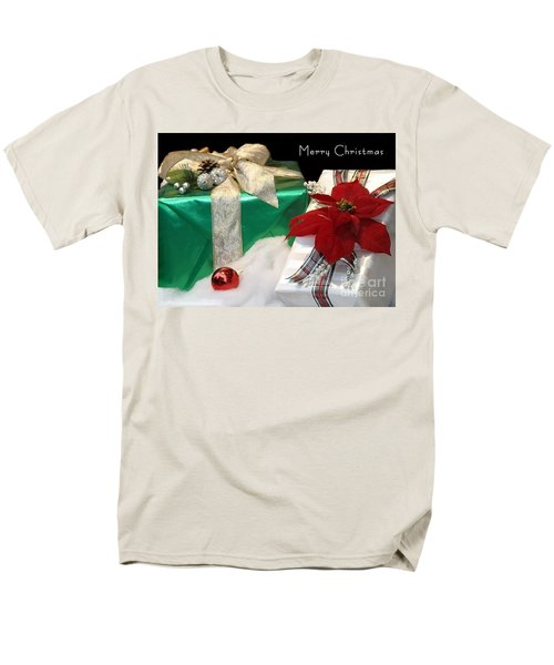 Christmas Presents Men's T-Shirt  (Regular Fit) by Living Color Photography Lorraine Lynch