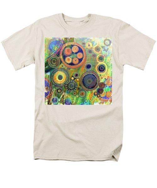 Clockwork Garden Men's T-Shirt  (Regular Fit) by Barbara Moignard