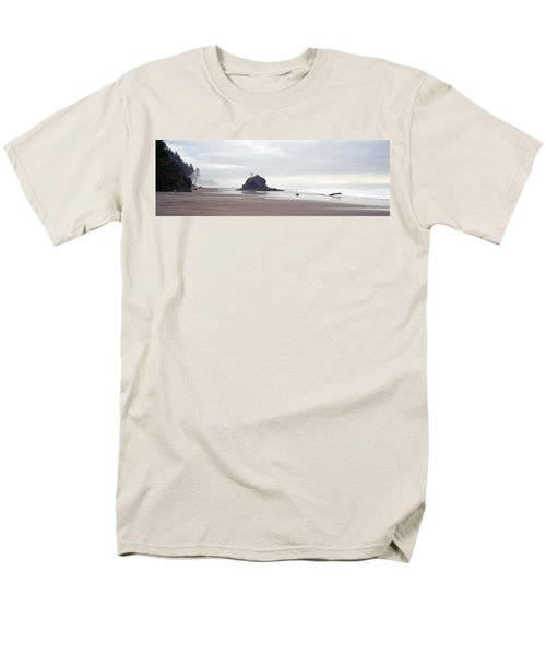 Coast La Push Olympic National Park Wa Men's T-Shirt  (Regular Fit) by Panoramic Images