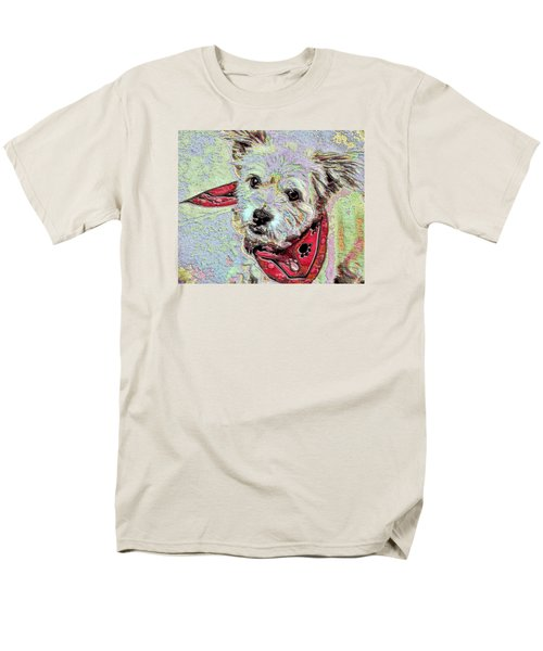 Cocoa On The Poster Men's T-Shirt  (Regular Fit) by Vickie G Buccini