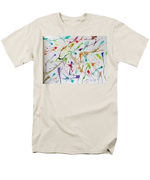 Colourful Holi Men's T-Shirt  (Regular Fit) by Sonali Gangane