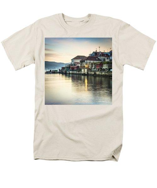 Combarro Pontevedra Galicia Spain Men's T-Shirt  (Regular Fit) by Pablo Avanzini