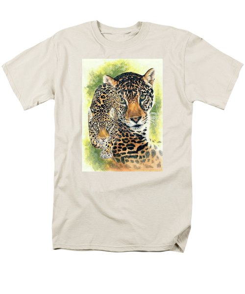 Men's T-Shirt  (Regular Fit) featuring the mixed media Compelling by Barbara Keith