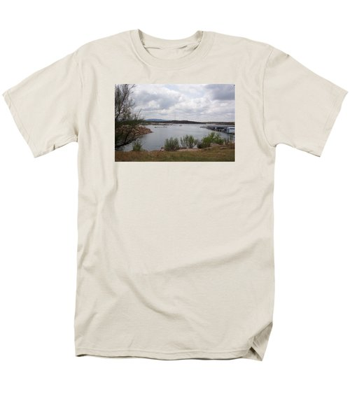 Conchas Dam Men's T-Shirt  (Regular Fit) by Sheri Keith