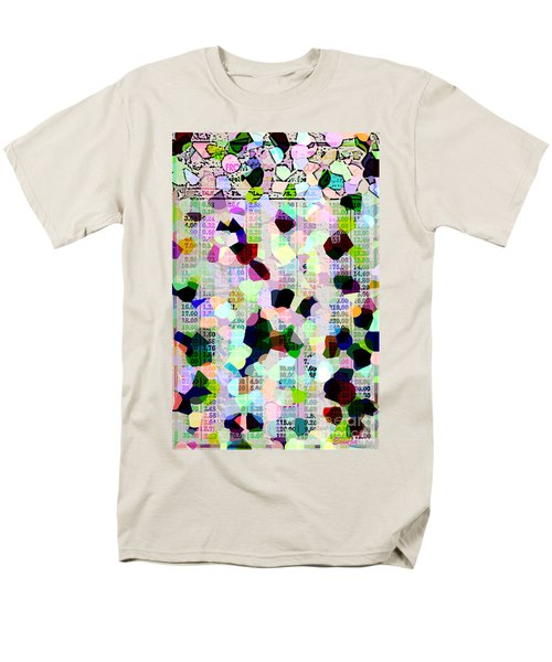 Men's T-Shirt  (Regular Fit) featuring the photograph Confetti Table by Ecinja Art Works