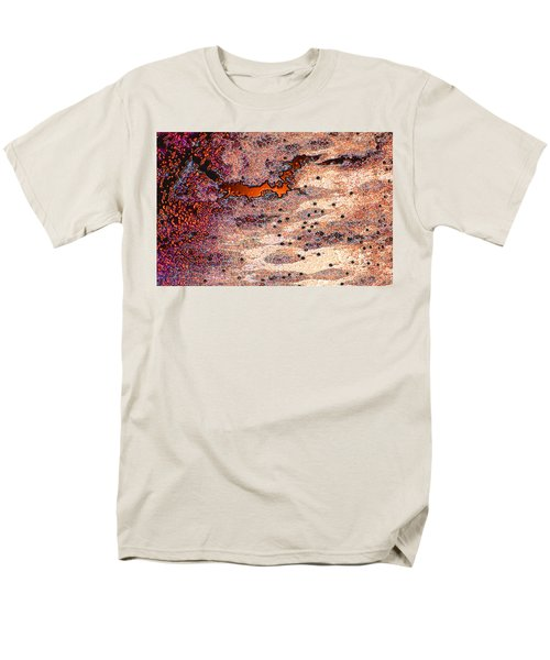 Men's T-Shirt  (Regular Fit) featuring the photograph Copper Landscape by Stephanie Grant