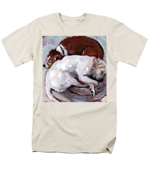 Men's T-Shirt  (Regular Fit) featuring the painting Cottonball by Molly Poole