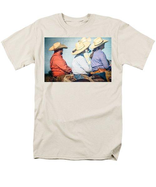 Men's T-Shirt  (Regular Fit) featuring the photograph Cowboy Colors by Steven Bateson