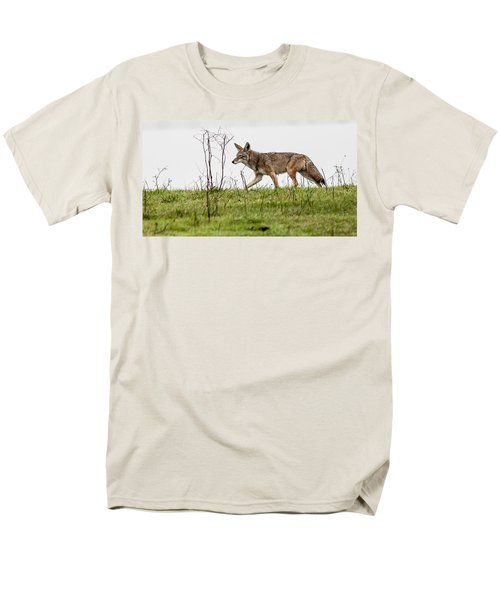 Coyote Men's T-Shirt  (Regular Fit) by Brian Williamson