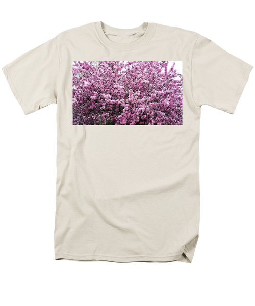 Crab Apple Tree Men's T-Shirt  (Regular Fit) by Aimee L Maher Photography and Art Visit ALMGallerydotcom