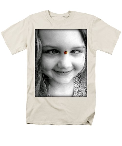 Men's T-Shirt  (Regular Fit) featuring the photograph Cross-eyed For Ladybugs by Faith Williams