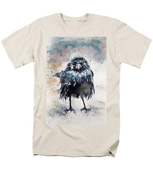 Crow After Rain Men's T-Shirt  (Regular Fit)