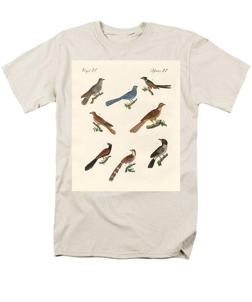 Cuckoos From Various Countries Men's T-Shirt  (Regular Fit) by Splendid Art Prints