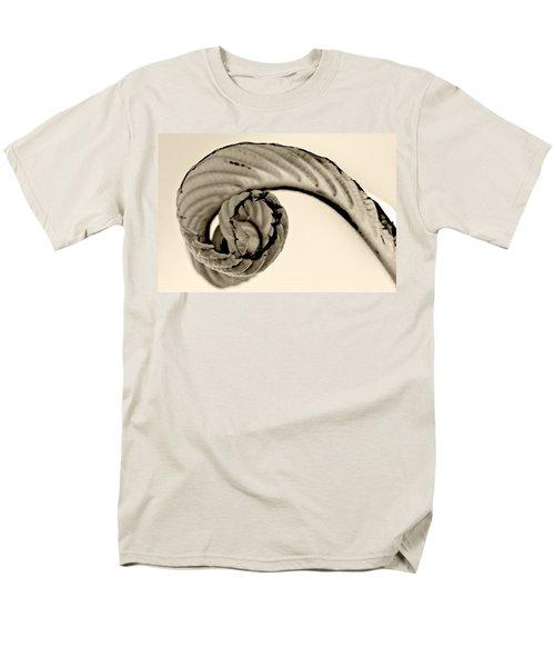 Curled Men's T-Shirt  (Regular Fit) by Melinda Ledsome
