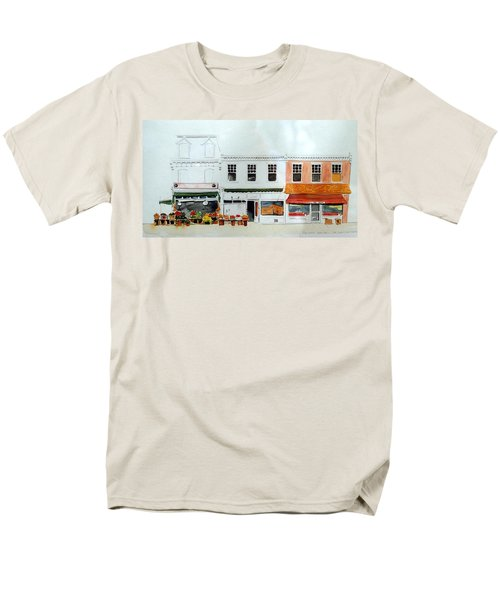 Cutrona's Market On King St. Men's T-Shirt  (Regular Fit) by William Renzulli