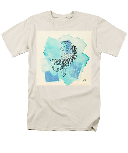 Cyprinus Carpio Men's T-Shirt  (Regular Fit) by Stefanie Forck