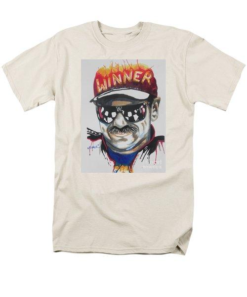 Dale Earnhardt Sr Men's T-Shirt  (Regular Fit) by Chrisann Ellis