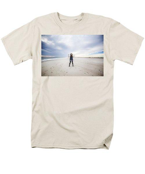 Dance At The Beach Men's T-Shirt  (Regular Fit)