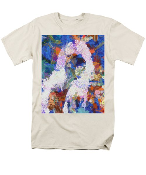 Men's T-Shirt  (Regular Fit) featuring the painting Dance Of Fools by Joe Misrasi