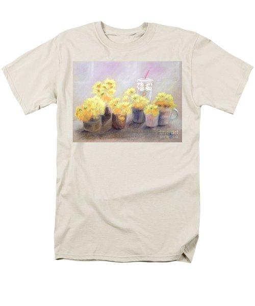 Dandelions Men's T-Shirt  (Regular Fit) by Yoshiko Mishina