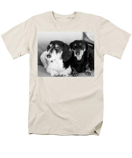 Dapper Doxies Men's T-Shirt  (Regular Fit) by Erika Weber